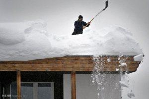 برف در آلوارس به نیم متر رسید
