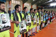 اولین دوره جام فوتسال حماسه ۹ دی در سرعین برگزار شد+فیلم