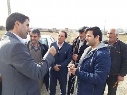 پیگیری تعریض جاده ارجستان توسط نمایندگان مجلس
