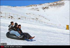 آلوارس بزرگترین پیست اسکی ایران  + عکس