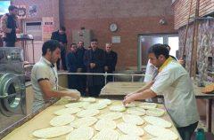 کارگاه آموزش عملی پخت نان در سرعین