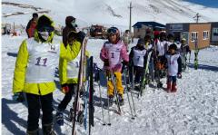 جشنواره ورزش های زمستانی در آلوارس برگزار شد