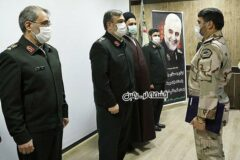 ارتقای درجه فرمانده مرزبانی استان اردبیل