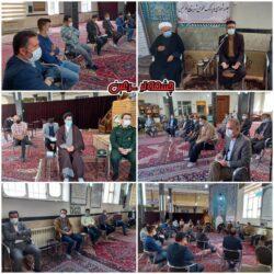 جلسه شورای فرهنگ عمومی سرعین با محوریت مراسمات محرم