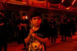 شب اول عزاداری محرم در سرعین+عکس