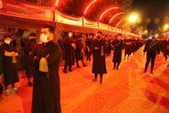 شب سوم عزاداری  حسینیان سرعین +عکس