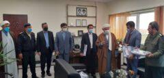 فرمانده نیروی انتظامی سرعین تجلیل شد