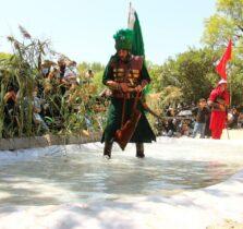 مراسم شبیه خوانی روز عاشورا در شهر سرعین+عکس